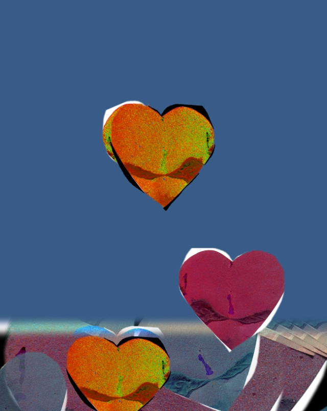 Painted Heart © Catherine Rutgers 2011