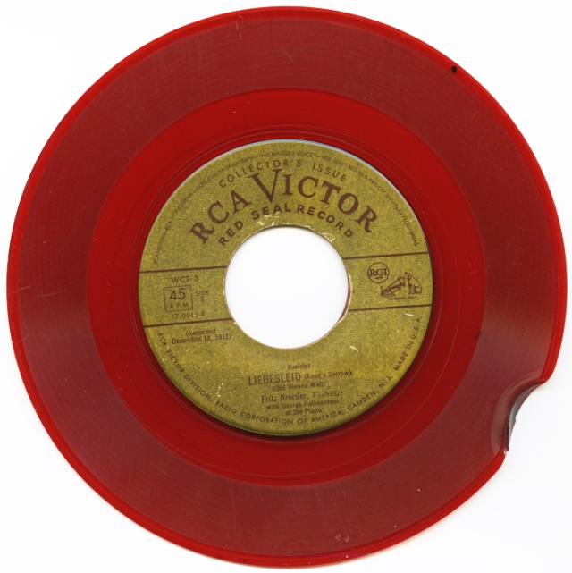 RCA Victor Red Seal Record, scanned in 2011, CatRutgers4art