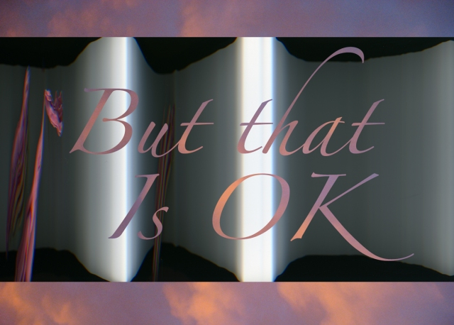 But That Is OK © Catherine Rutgers