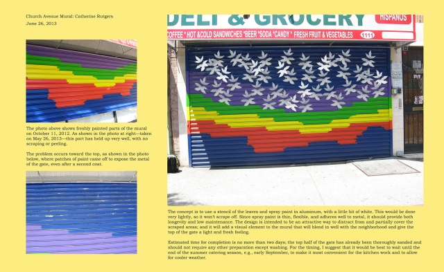 Mural Completion Concept June 2013 © Catherine Rutgers 2014