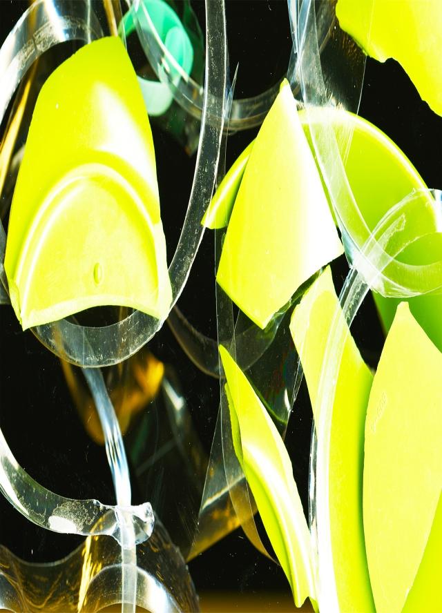 Yellow-Green Shards © Catherine Rutgers 2015