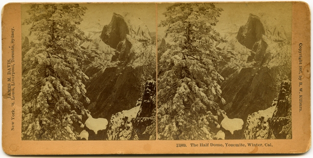 The Half Dome in Yosemite 1897