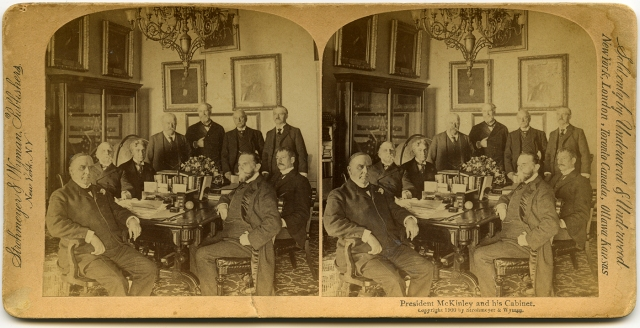 President McKinley and His Cabinet 1900