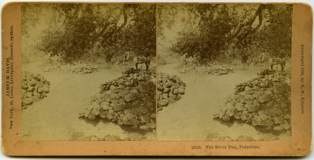 The River Dan-Palestine 1899