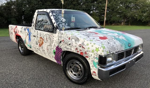 Her 1993 Nissan D21 © Karolina C. Polak 2020