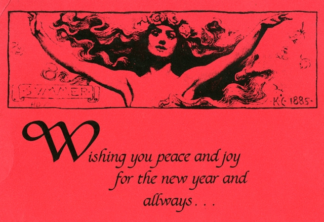 New Year Peace and Joy 1989