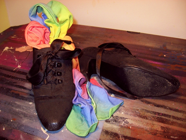 Dancing Shoes and Rainbow Tights © Catherine Rutgers 2020