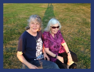 Catherine and Gloria in the Hudson Valley, August 29, 2015